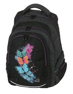 Školní batoh FAME Butterfly