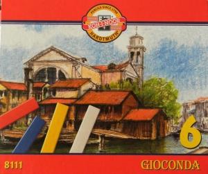 GIOCONDA olejové křídy 8111 Koh-i-noor 6 barev