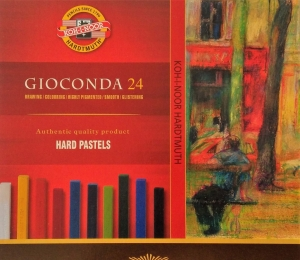 GIOCONDA olejové křídy 8114 Koh-i-noor 24 barev