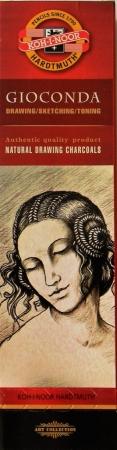 GIOCONDA 8622 černý přírodní kreslící uhel Koh-i-noor