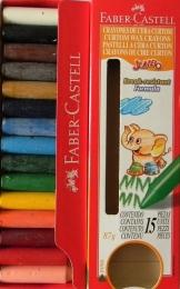Voskovky 520015 Faber-Castell 15 barev