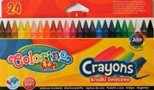 Voskovky COLORINO Kids 24 barev