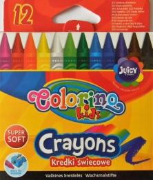 Voskovky COLORINO Kids 12 barev