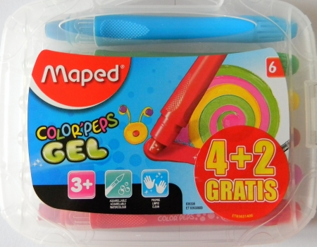 Gelové pastely MAPED Color´Peps 6 barev