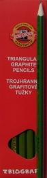 Tužka KIN trojhranná 1802 č.3