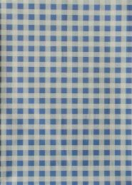 Ubrus 65x50cm motiv káro modré